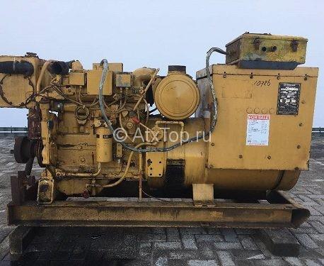 Б/у Caterpillar 3304 - 100 kVA