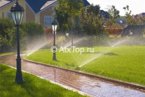 Роторные и статические дождеватели для полива