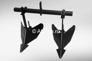 двойной окучник для минитрактора