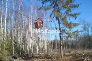 Установка для трелевки леса WooDliner
