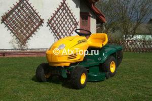 Трактор косилка садовый Yardman