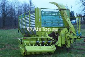 Косилка-измельчитель с бункером Claas Rapido 40