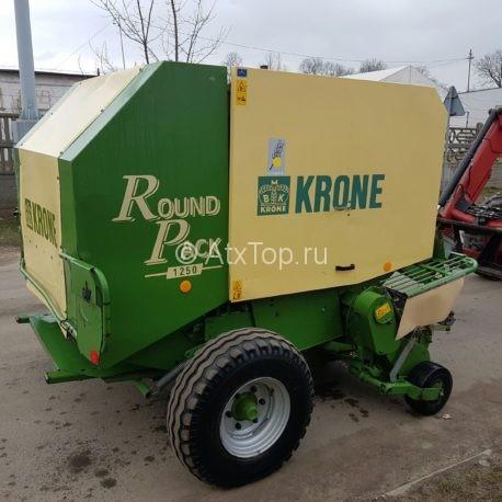 Рулонный пресс-подборщик Krone Round Pack 1250