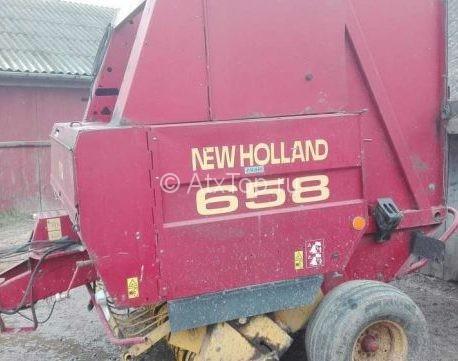 Рулонный пресс-подборщик New Holland 658