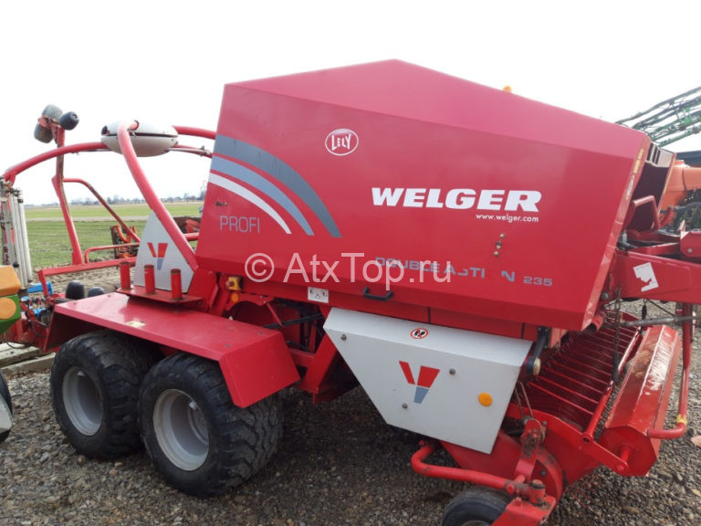 welger double action 235 lely