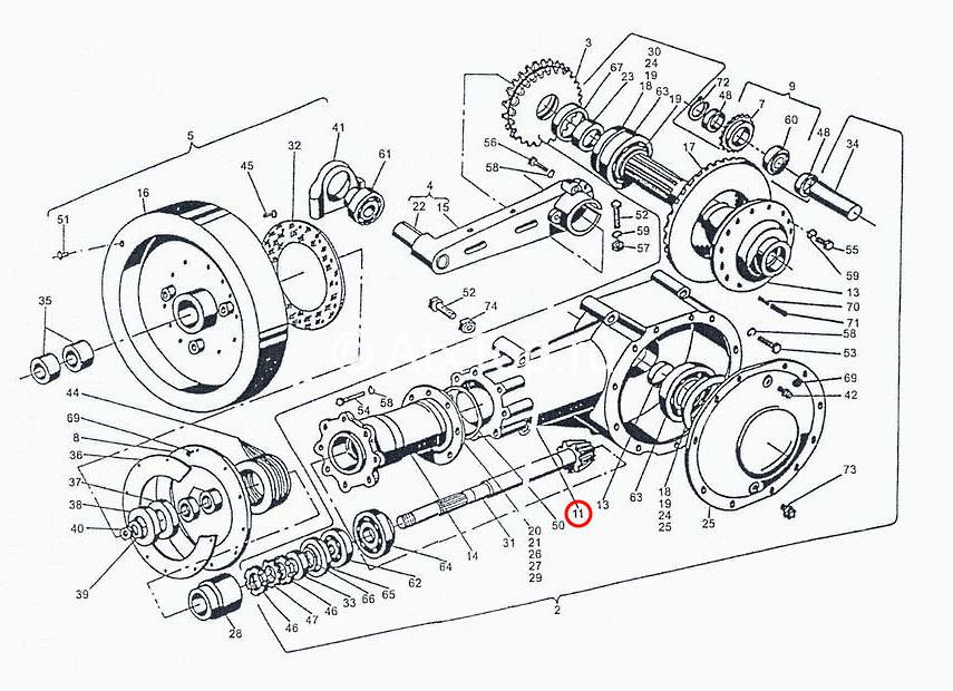 korpus-glavnogo-reduktora-sipma-z-224-4