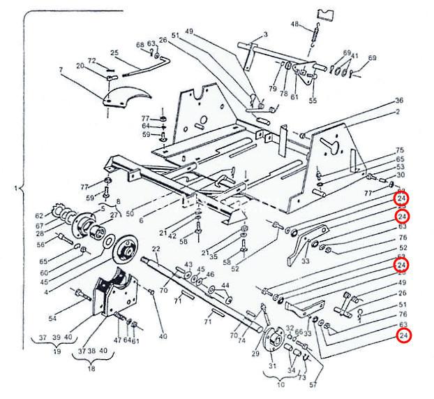 rolik-rezinovyj-mehanizma-upora-tyuka-sipma-z-224-3