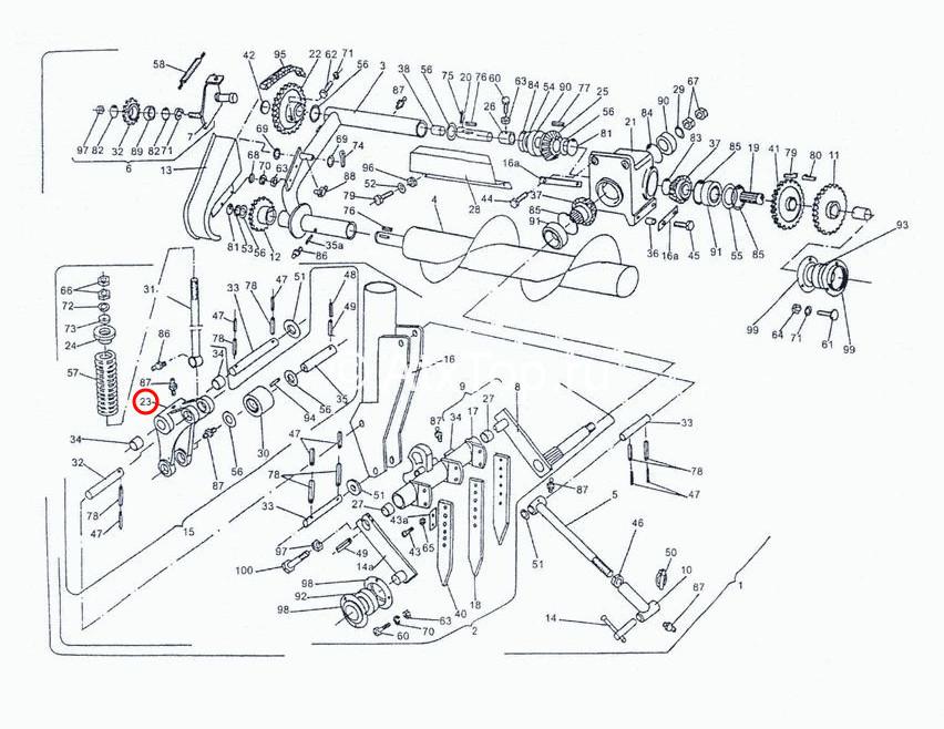 rychag-kolennyj-podayushhego-mehanizma-sipma-z-224-3