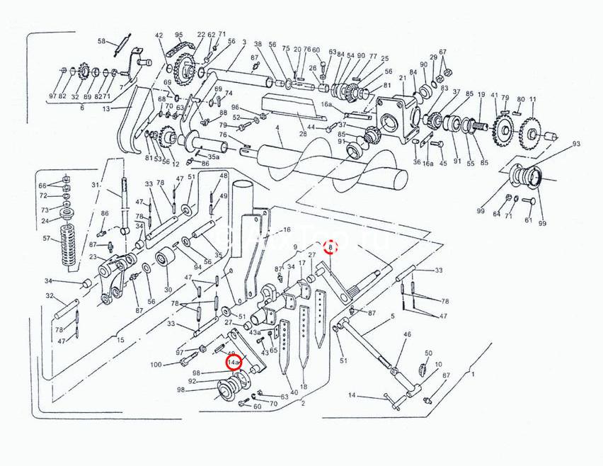 rychag-vedushhij-podayushhego-mehanizma-sipma-z-224-4