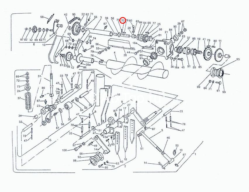 val-privoda-shneka-sipma-z-224-4