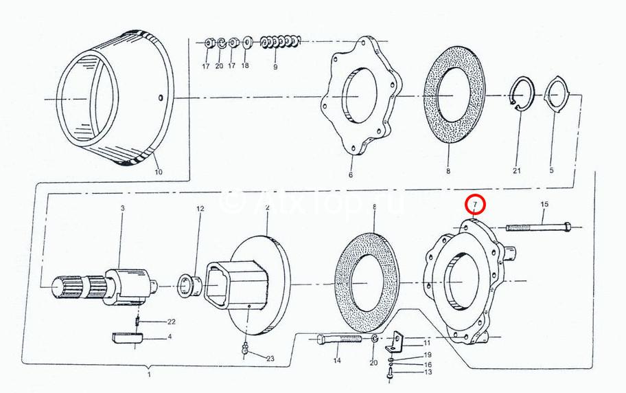 disk-pravyj-mufty-stsepleniya-sipma-z-224-3