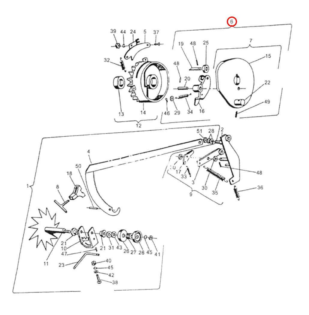 disk-vklyucheniya-vyazalnogo-mehanizma-v-sbore-sipma-z-224-3
