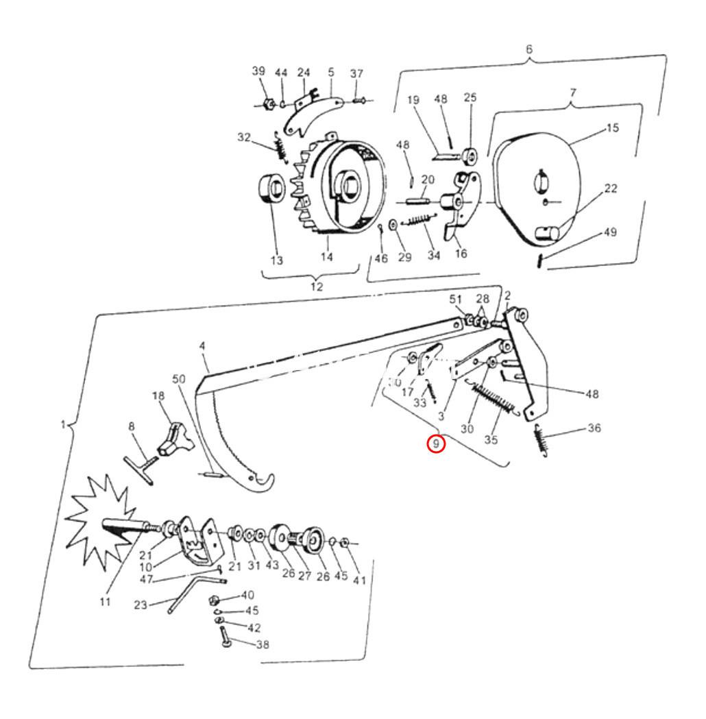 rychag-pereklyuchatelya-vyazalnogo-mehanizma-sipma-z-224-v-sbore-3