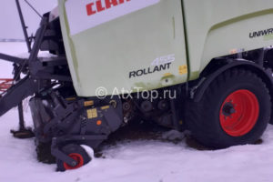 Пресс-подборщик Claas Rollant 455 Uniwrap